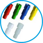 Fittings and Ferrules for capillary connector for SafetyCaps / SafetyWasteCaps