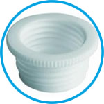 Thread adapters for SafetyCaps / SafetyWasteCaps, PTFE