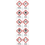 Hazard labels (GHS)