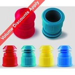 LLG-Test Tube Stoppers Blue  9231276